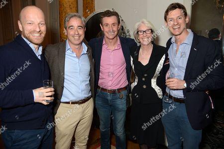 Ben Saunders, Giles English, Nick English, guest and Jake Meyer