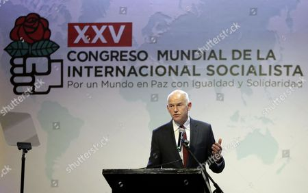 Stock Image of George Papandreou