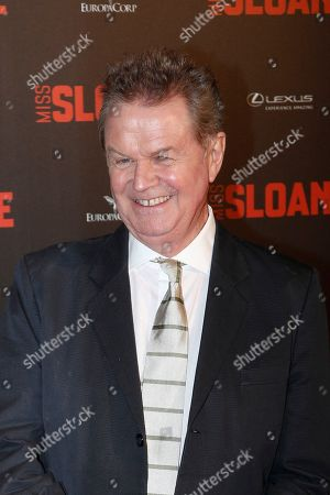 "Director John Madden attends a premiere of ""Miss Sloane"", in Paris"