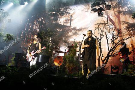 Editorial photo of Iranian musician Shahin Najafi  performs in Israel, Tel Aviv - 02 Mar 2017