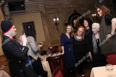 Stock Photo of Anne Hubbell (Producer), Klaire Firestone, Ferne Pearlstein (Director), Renee Firestone and Judy Gold