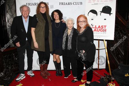 Alan Zweibel, Judy Gold, Ferne Pearlstein (Director), Renee Firestone and Klaire Firestone