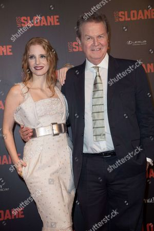 Jessica Chastain and John Madden