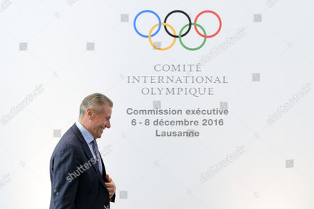 International Olympic Committee (ioc) Member Sergei Bubka of Ukraine at the Opening of the First Day of the Executive Board Meeting of the International Olympic Committee (ioc) in Lausanne Switzerland Tuesday December 6 2016 Switzerland Schweiz Suisse Lausanne