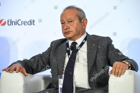 Naguib Sawiris Ceo Orascom Telecom Medio and Technology Holding of Egypt Attends a Forum Discussion of the Med-mediterranean Dialogues in Rome Italy 02 December 2016 the Rome Med-mediterranean Dialogues Are an Annual High-level Initiative Organized by the Italian Ministry of Foreign Affairs and the Italian Institute For International Political Studies (ispi) Italy Rome