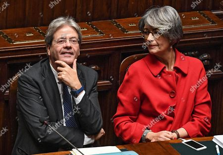 Editorial image of Italy Government Parliament - Dec 2016