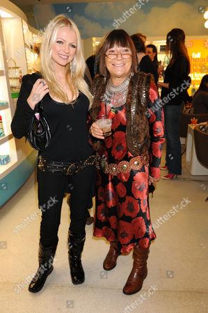 Hannah Sandling and Hilary Alexander