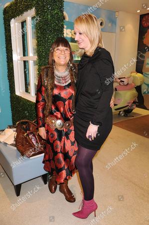Camilla Morton and Hilary Alexander