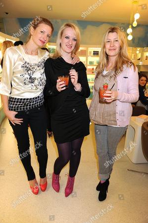 Lainey Sheridan Young, Camilla Morton and Sara Buys