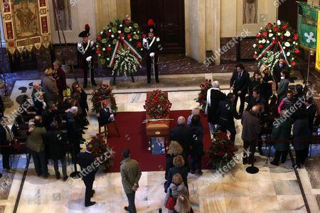 Editorial image of Italy People Veronesi Lie-in State - Nov 2016