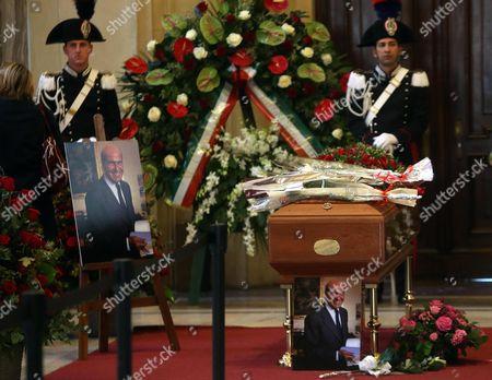 Editorial photo of Italy People Veronesi Lie-in State - Nov 2016