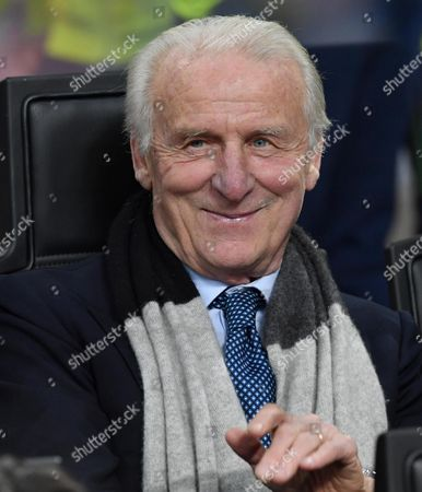 Stock Picture of Former Italy's Head Coach Giovanni Trapattoni Attends the International Friendly Soccer Match Italy Vs Germany at Giuseppe Meazza Stadium in Milan Italy 15 November 2016 Italy Milan