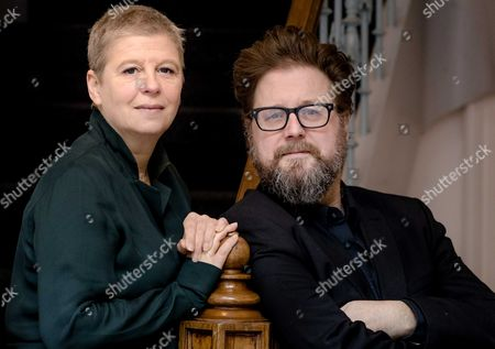 Dutch Film Producer Els Vandevorst (l) and Film Director Martin Koolhoven (r) Pose For Photos During a Media Opportunity in Amsterdam the Netherlands 05 December 2016 Koolhoven Directed the Dutch-american Western Film 'Brimstone' Which First Premiered at the 2016 Toronto International Film Festival Netherlands Amsterdam