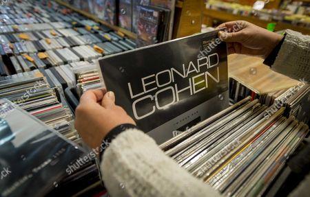 Editorial image of Netherlands Leonard Cohen - Nov 2016