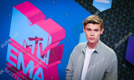 Stock Picture of Luxembourg Singer Benjamin Lasnier Arrives at the Mtv Europe Music Awards (emas) 2016 at the Ahoy Rotterdam in Rotterdam Netherlands 06 November 2016 Netherlands Rotterdam