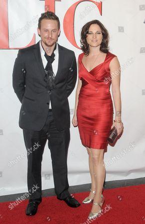 Stephen Guarino and Nicole Paone