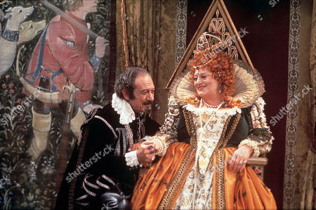 'Carry on Laughing!'  - Sir Francis Drake (Sid James) with Queen Elizabeth 1 (Hattie Jacques)