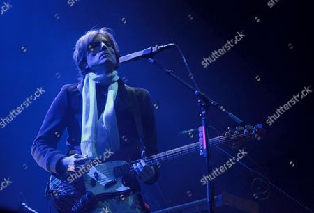 Nicolas Godin of the French Music Duo Air Performs on Stage During the Corona Capital Festival at Autodromo Hermanos Rodriguez in Mexico City Mexico 19 November 2016 the Festival Runs From 19 to 20 November Mexico Mexico City