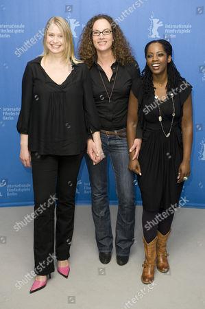 Trine Dyrholm, Annette K Olesen and Lorna Brown