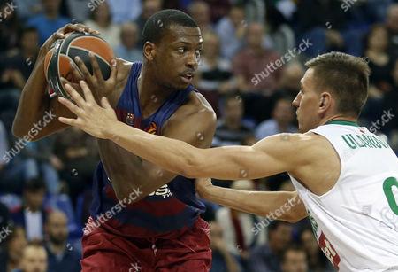 Editorial picture of Spain Basketball Euroleague - Nov 2016