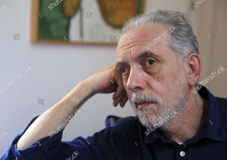 Spanish Filmmaker Fernando Trueba Gestures During an Interview at His House in Madrid Spain 30 November 2016 Trueba Talked About His New Movie 'La Reina De Espana' (the Queen of Spain) That Opened in Spanish Theaters on 25 November Spain Madrid
