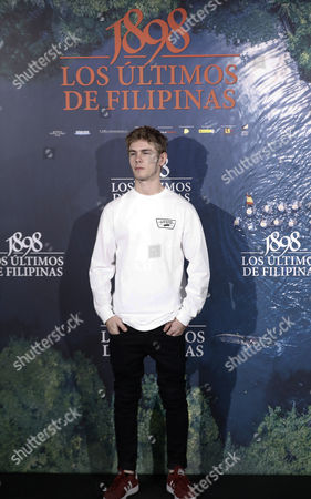 Spanish Actor Patrick Criado Poses During the Presentation of the Film 'Los Ultimos De Filipinas' (last Ones in Philippines) in Madrid Spain 28 November 2016 the Film Will Be Shown on Cinemas From 02 December 2016 Spain Madrid
