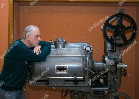 Spanish Filmmaker Fernando Trueba Attends a Discussion About Cinema in Zaragoza Spain 28 November 2016 on the Ocassion of the Presentation of His Last Movie 'La Riena De Espana (the Queen of Spain) Spain Zaragoza