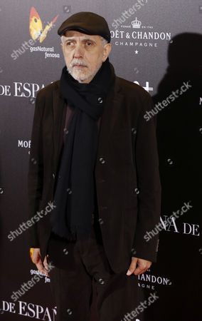 Spanish Film Maker Fernando Trueba Arrives For the Premiere of the Film 'La Reina De Espana' (the Queen of Spain) in Callao's Cinema in Madrid Spain 24 November 2016 Spain Madrid