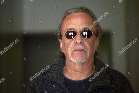 Stock Photo of Spanish Guitarist Javier Mas Stage Companion of Late Us Musician Leonard Cohen For Over Nine Years Poses During an Interview in Barcelona Spain 11 November 2016 According to Javier 'Although Leonard Had the Reputation of Being a Depressive Man It was All Cock-and-bull Story; You'd Die Laughing with Him' Spain Barcelona