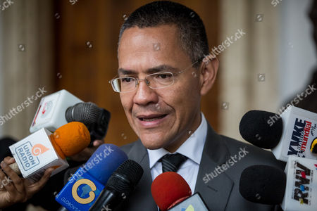 Editorial picture of Venezuela Bernardo Alvarez Obit - Nov 2016