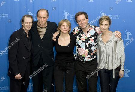 Steve Buscemi, Ulrich Tukur, Dagmar Manzel, Director Florian Gallenberger and Anne Consigny
