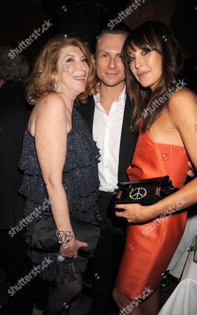 Nona Summers, Christian Slater and Tamara Mellon