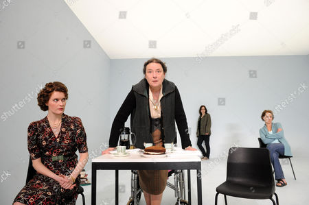 'The Stone' -  Justine Mitchell (Mieze), Linda Bassett (Witha), Amanda Drew (Stefanie) and Helen Schlesinger ( Heidrun )