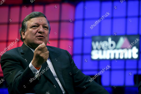 Jose Manuel Barroso Former President of the European Comission and Non Executive Chairman of Golden Sachs During the Opening Ceremony of the Web Summit in Lisbon Portugal 07 November 2016 Reports State That the Web Summit Has Become Europe's Largest and Most Important Technology Marketplace and Runs From 07 Until 10 of November 2016 Portugal Lisbon
