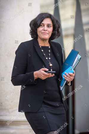 French Labor Minister Myriam El Khomry Leaves Elysee Palace After the Weekly Cabinet Meeting in Paris France 13 November 2015 Epa/christophe Petit Tesson France Paris