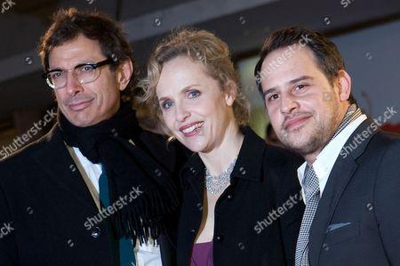 Stock Photo of Jeff Goldblum, Juliane Kohler and Moritz Bleibtreu