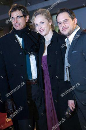 Jeff Goldblum, Juliane Kohler and Moritz Bleibtreu