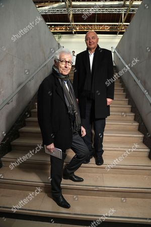 Stock Picture of Didier Grumbach and Pascal Morand
