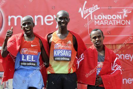 Editorial picture of Britain London Marathon - Apr 2012