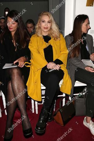 Editorial picture of Alexis Mabille show, Front Row, Autumn Winter 2017, Paris Fashion Week, France - 02 Mar 2017
