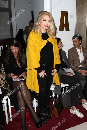 Editorial image of Alexis Mabille show, Front Row, Autumn Winter 2017, Paris Fashion Week, France - 02 Mar 2017