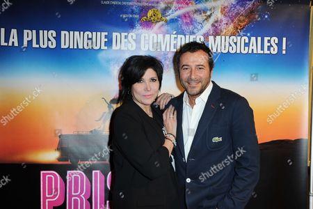 Liane Foly and Bernard Montiel