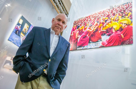 Editorial image of Steve McCurry in Brussels for his exhibition 'The world of Steve McCurry', Belgium - 03 Mar 2017