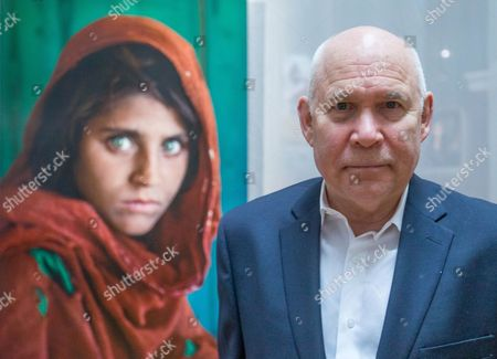 Editorial photo of Steve McCurry in Brussels for his exhibition 'The world of Steve McCurry', Belgium - 03 Mar 2017