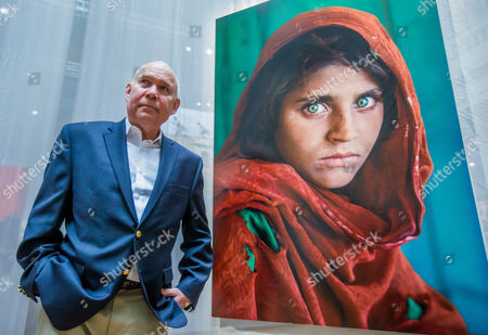 Editorial picture of Steve McCurry in Brussels for his exhibition 'The world of Steve McCurry', Belgium - 03 Mar 2017