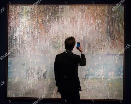 Peter Doig. Cobourg 3 + 1 More 1994.  Estimate £8,000-000-12,000,000