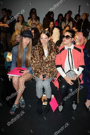 Editorial image of Manish Arora show, Front Row, Autumn Winter 2017, Paris Fashion Week, France - 02 Mar 2017