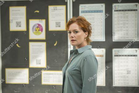 Charlotte Lucas as Sarah Elsey.