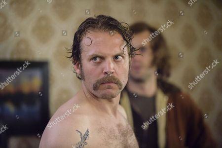 Episode 3 - Lex Shrapnel as Jay Taylor as David.