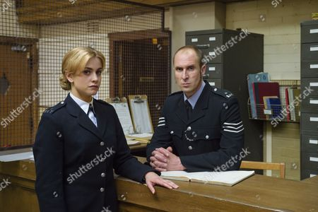 Episode 3 - Stefanie Martini as Jane Tennison and Andrew Brooke as Sergeant Harris.